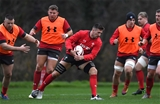 28.11.19 - Wales Rugby Training -Justin Tipuric during training.