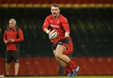 29.11.19 - Wales Rugby Training -Dillon Lewis during training.