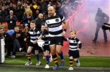 30.11.19 - Wales v Barbarians - International Rugby -Rory Best of Barbarians with his children Ben, Penny and Richie.