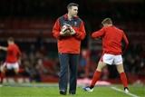 30.11.19 - Wales v Barbarians - Wales Coach Stephen Jones.