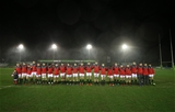 21.02.20 - Wales U20 v France U20, U20 Six Nations Championship 2020 - The Wales team lines up for the anthems