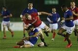 21.02.20 - Wales U20 v France U20, U20 Six Nations Championship - Jac Morgan of Wales chases the loose ball