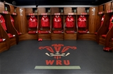 22.02.20 - Wales v France - Guinness Six Nations -Wales dressing room.