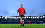 25.10.19 - Wales Rugby Training -Jonathan Davies during training.